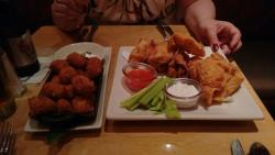 Amazing food, the portions are huge, these are just our appetisers!