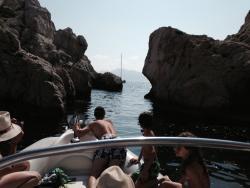 Balade en Mer Marseille Cote-Bleue