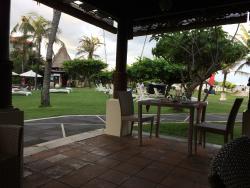 海辺のレストランからの風景