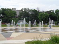 Whirlpool Compass Fountain