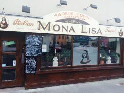 Mona Lisa Restaurant Wine Pizza Tapas Cafe'