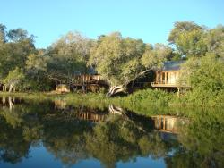Our rooms, from the river