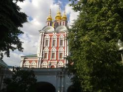 Temple of the Transfiguration in the Novodevichiy Convent