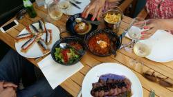 a comida :)