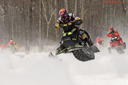 Snowcross race, March every year