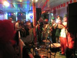 The Voodoo Love orchestra at The Love Carnival