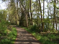‪Willamette River bike trail‬