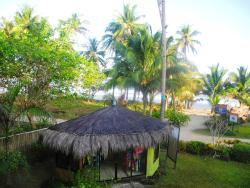 Vistas desde la terraza del bungalow