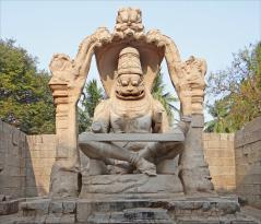 Statue of Ugra Narsimha