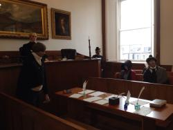 Sir Walter Scott's Courtroom