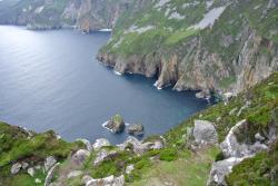 Donegal cliffs, less than an hour driving