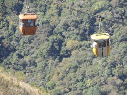 Cable Car to Sao Domingos ridge