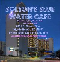Bolton's Blue Water Cafe & Beach Bar