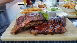 Oakwood grill restaurant