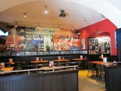 TGIF bar area