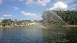 Fonte do parque