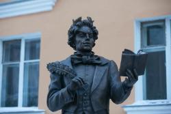Kozma Prutkov Statue