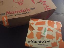 Nando's take out.