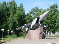 Monument to Plane MIG-25