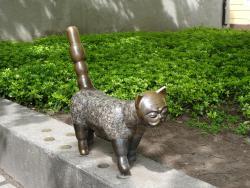 Sculpture Cat Klaipedis