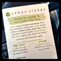Urban Plates at the Forum Carlsbad