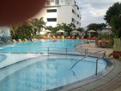 The hotel pool. Very relaxing and no crowds.