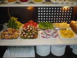 Yummy fruits for breakfast