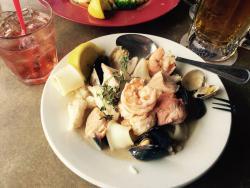 Seafood bowl.