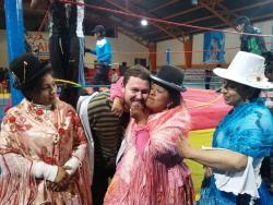Cholitas Wrestling
