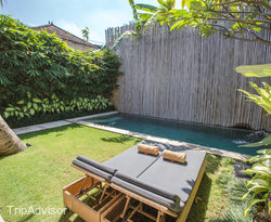 The One Bedroom Executive Villa with Private Pool at the Uma Sapna
