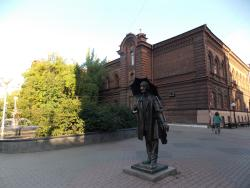 Monument to the painter Andrew Pozdeev