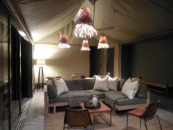 Linkwasha Camp Family Tent Living Room