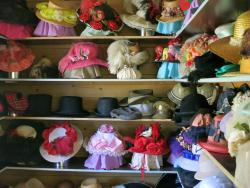 Millinery in White House - Beenleigh Historical Village