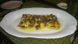 Ravioli al tartufo-Rist. Italiano