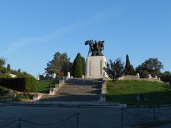 Parco della Rimembranza sul Colle di San Giusto