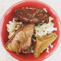 Agong Spareribs Rice