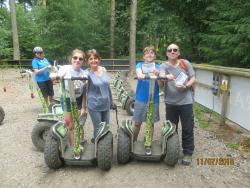 Go Ape! Forest Segway