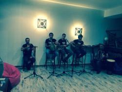 Live Georgian Folk Musik at Cafe Laila