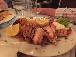 Great night of beautiful food and Greek music