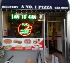 A No 1 Pizza