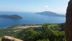 View on a hike in Lake Malawi National Park
