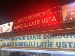 Baldo Rumelili Latif Usta Dondurma