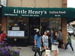 Little Henry Italian Food