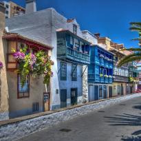 Balcones de la avenida Maritima
