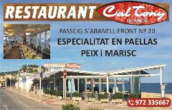 Restaurant Cal Tony Blanes