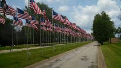 The Avenue of 444 Flags