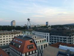 view on Bratislava