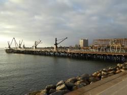 Muelle Salitrero Compañía Melbourne Clark