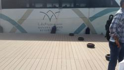 Luxury boat that takes u to resort from Doha