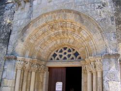 L'église de Saint Vincent de Pertignas